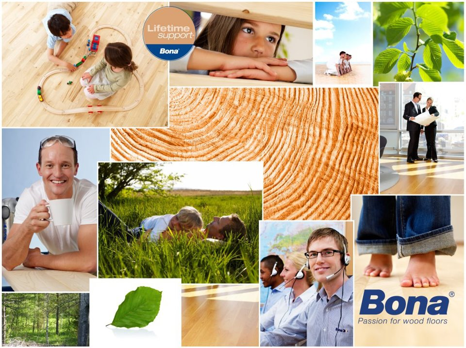 Bona Productos para suelos de madera y laminados, parquet y lijadoras